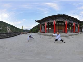 宝鸡—秦岭太白庙全景