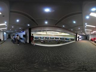 北京市轨道交通指挥中心调度室全景