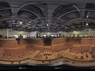 西安—秦始皇陵兵马俑展厅全景
