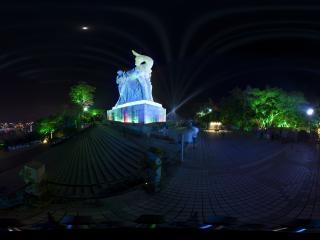 海南三亚—鹿回头夜景