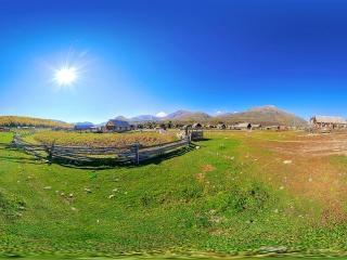 新疆—山村禾木全景
