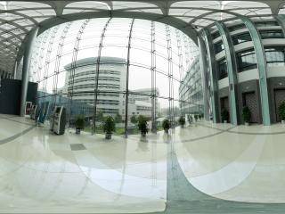 北京—走进首都图书馆全景