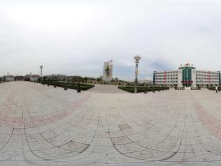 陕西—榆林神木七中全景