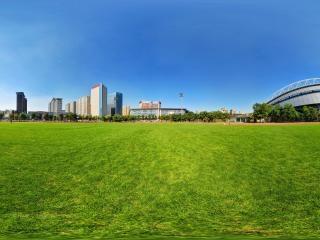 辽宁—沈阳奥体中心暴走跑步区全景