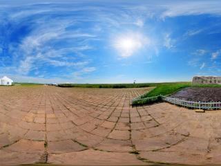 内蒙古—锡林郭勒元上都遗址全景