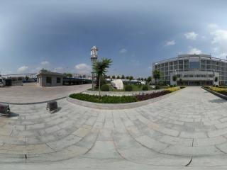 陕西—榆林神木七中办公楼全景
