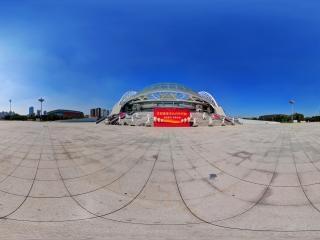 辽宁—沈阳奥体中心南门全景