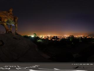 福建—泉州大坪山夜景全景
