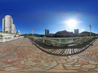 广西—梧州江景全景