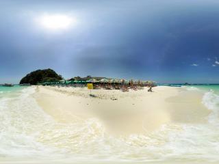 泰国—普吉岛海滩(四)全景