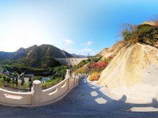 青龙峡天阶全景