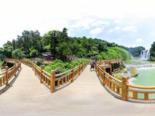 贵州—安顺黄果树瀑布大瀑布全景