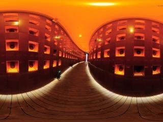 安徽—合肥渡江战役纪念馆功勋长廊全景