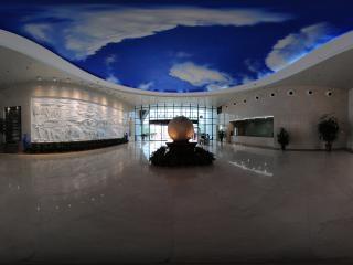 博物馆一层大厅全景