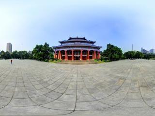 广东—广州中山纪念堂全景