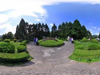 江西—井冈山雕塑园全景