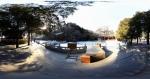 北京八大处公园全景