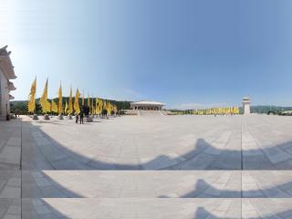 陕西黄帝陵全景