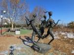 北京国际雕塑公园全景