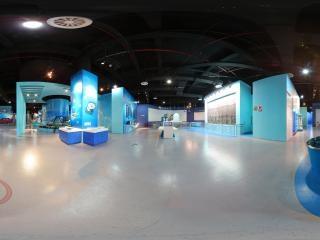 湖南—长沙科技馆展厅全景