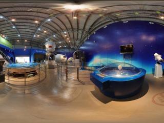 湖南—长沙科技馆太空飞船展厅全景