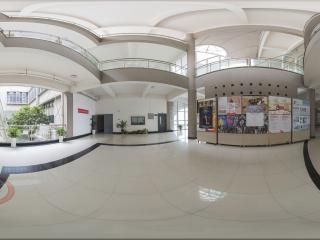 湖南—长沙中南大学建筑与艺术学院一楼大厅全景