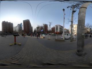 青海—西宁夏都文化广场全景