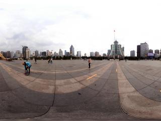 贵州—贵阳筑城广场全景