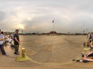 北京—天安门广场前全景