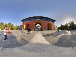 北京—北京天坛公园全景