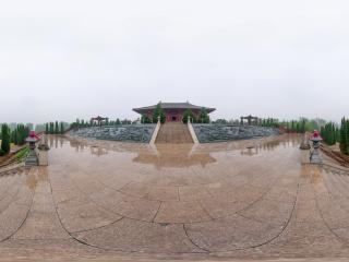 河北—张家口黄帝城遗址文化旅游区全景