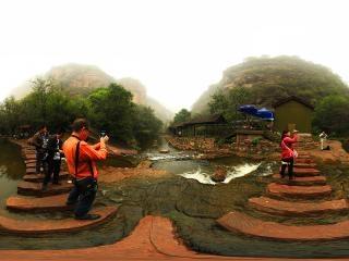 河南—洛阳白云山风景区全景