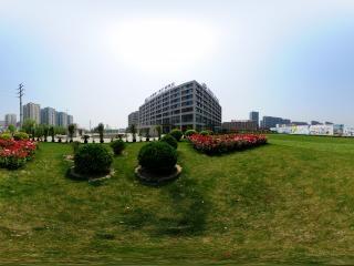 北京—北京国家广告产业园区广场全景