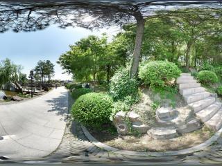 江苏—苏州灵岩山公园全景