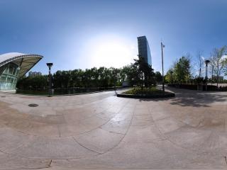 北京—北京国际雕塑公园小景全景