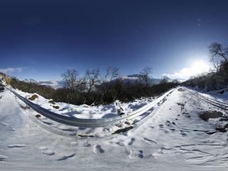 黑龙江—哈尔滨龙博手记《雪景》全景