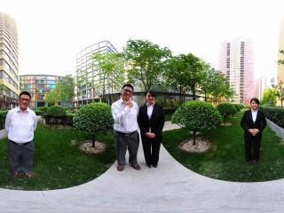 北京—光华路阳光100小区(一)全景