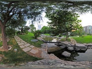 北京—北京山水文园住宅区园林景观