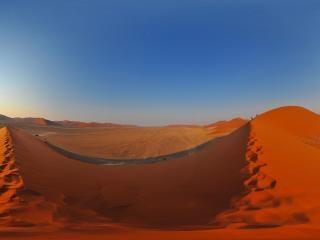 纳米比亚—红色沙漠全景