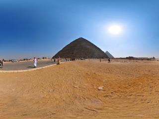 埃及—开罗胡夫金字塔全景