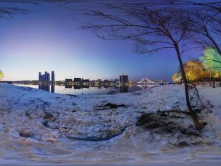 吉林—松江夜景