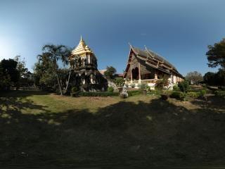 泰国—清迈古城全景