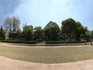 上海—闵行一社区公园全景