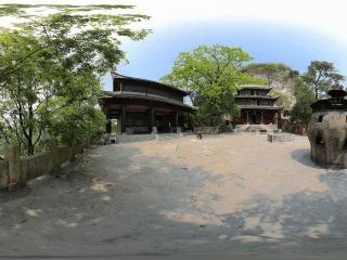 贵州—贵阳仙人洞遗址公园(二)全景