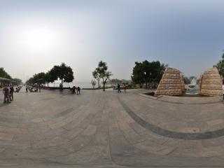 天津—河西塔湖风景区广场喷泉