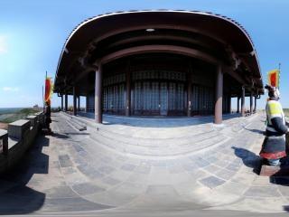 内蒙古—鄂尔多斯东联影视动漫城城楼