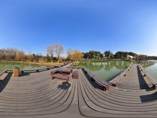 江阴黄山湖公园全景三