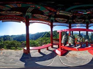 北京—京东石林峡风景区—古今第一钟全景