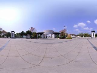 博物馆门口全景