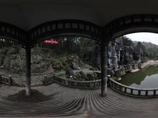 湖南—湘潭滴水洞公园滴水仙境观景亭